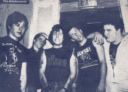 The Adolescents 82 'Glenn E. Friedman ' (DC Collection)
